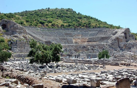 Ancient City of Ephesus: Amphitheater or Stadium at ephesus