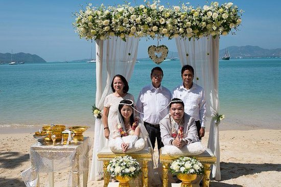 Panwa Boutique Beach Resort: Thai Buddhist Beach Wedding