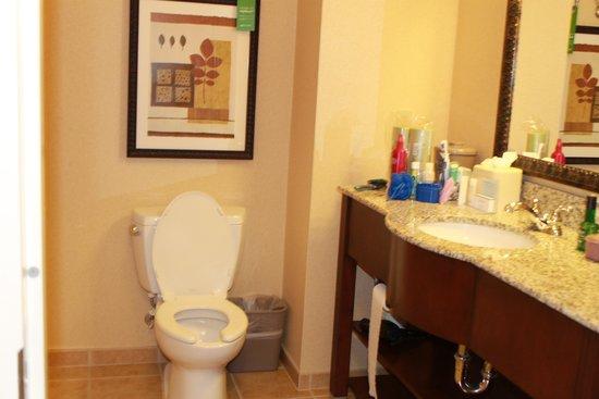 Hampton Inn & Suites Tahoe-Truckee : our room