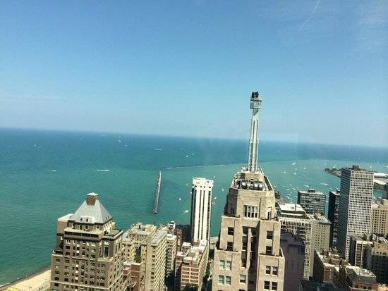 Four Seasons Hotel Chicago: View from the 40th floor.