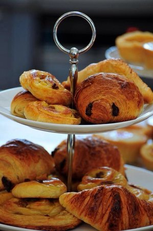The Old Courthouse Cafe: Breakfast pastries. Freshly baked daily