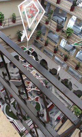 Evenia Zoraida Garden: Centro del hotel