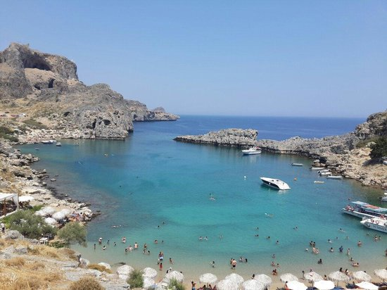 Agios Pavlos Beach (Saint Paul) : The bay