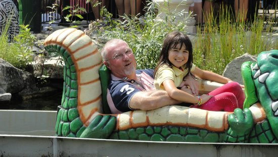 Familypark: Water ride!
