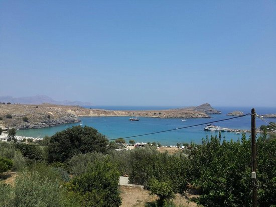 Agios Pavlos Beach (Saint Paul) : From Lindos capture