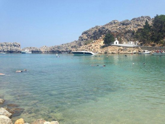 Agios Pavlos Beach (Saint Paul) : Close view