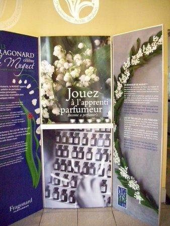 Fragonard Scribe Museum: Реклама продукции на Фрагонаре