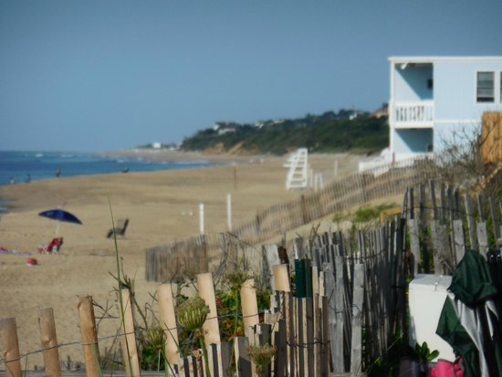 Montauk Blue Hotel: view from room deck
