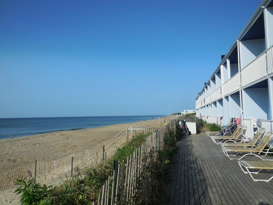 Montauk Blue Hotel: view from our deck