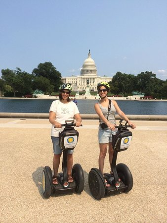 Bike and Roll DC: DC Segway Tour