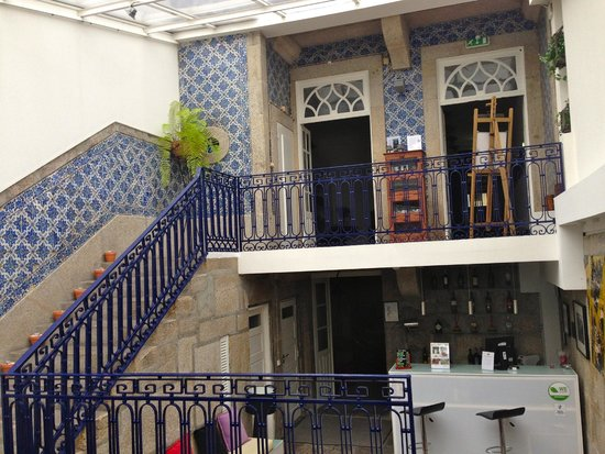 Gallery Hostel: View from lounge/bar area
