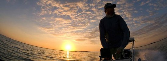 Sting Rea Private Charters : Running out at dawn for some tarpon fishing