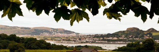 YHA Conwy: Views from the dinning room