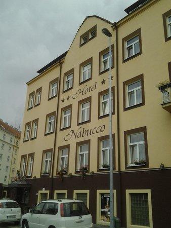 Hotel Nabucco: facciata dell'hotel