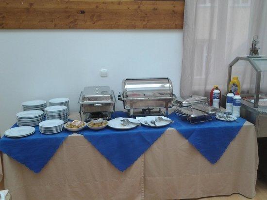Hotel Nabucco: colazione: zona salato e caldo