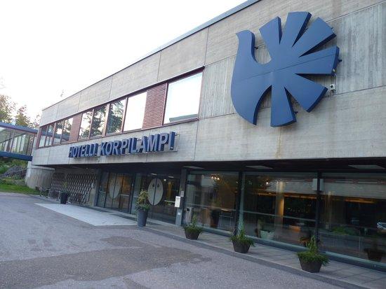 Hotel Korpilampi: the frontdesk