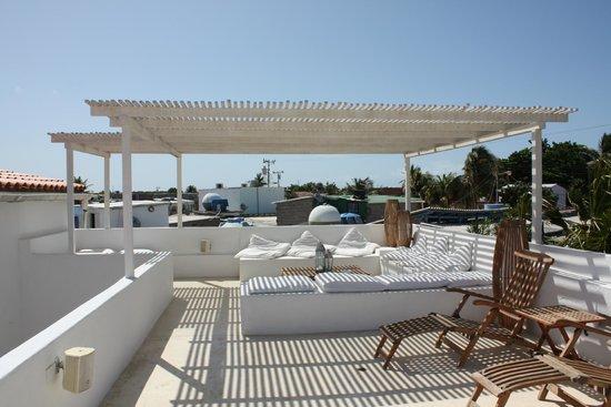 Le terrazza di Villa Caracol
