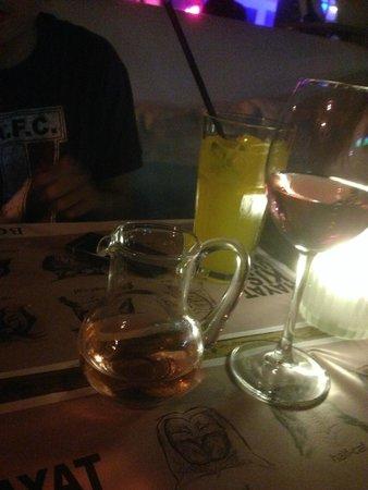 Bono Good Times Beach: Glass of wine