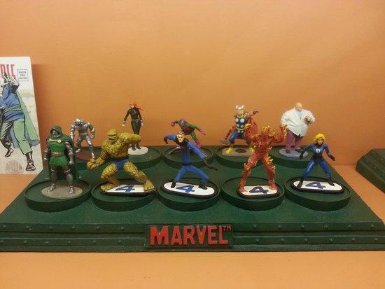 L'Iber Museo de los Soldaditos de Plomo: Parte della collezione Marvel