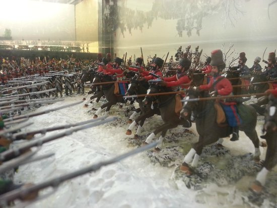 L'Iber Museo de los Soldaditos de Plomo: Uno dei tanti campi di battaglia