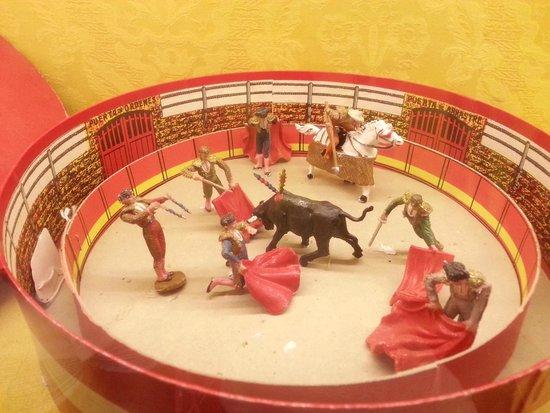 L'Iber Museo de los Soldaditos de Plomo: Miniatura della corrida