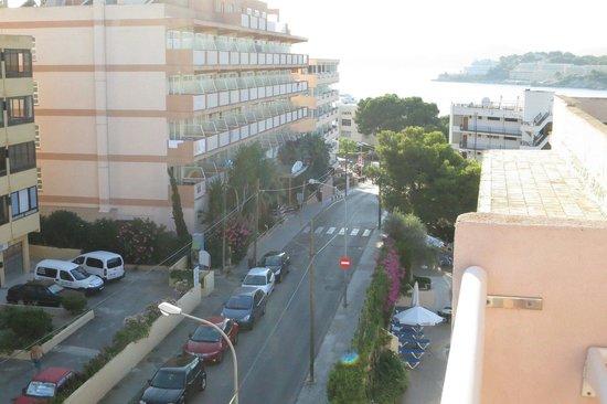 Hotel Delfin Mar: Vista balcone