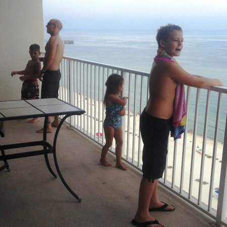 The Lighthouse Condominiums: Balcony - Lighthouse 1609