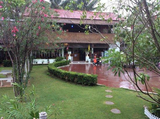Thai Garden Inn : Reception/Restaurant