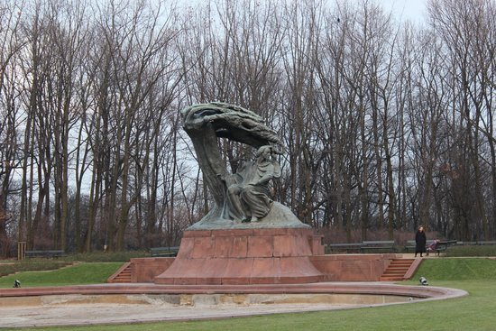 Chopin Monument: Het Chopin-Monument