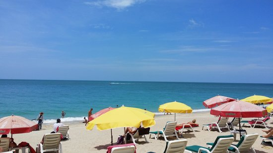 Marina Villa: The beach