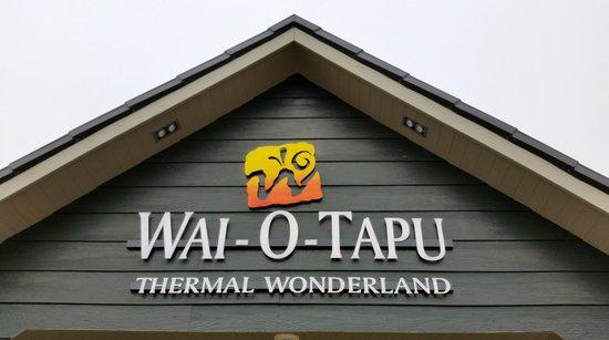 Wai-O-Tapu Thermal Wonderland: Welcome center