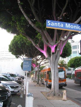 Third Street Promenade: Estacionamento próximo