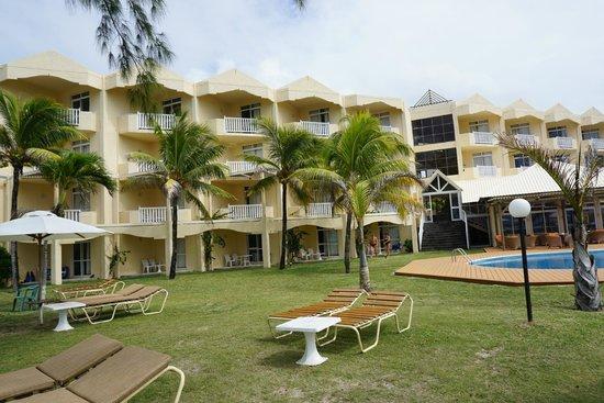 Silver Beach Hotel : Das Hauptgebäude