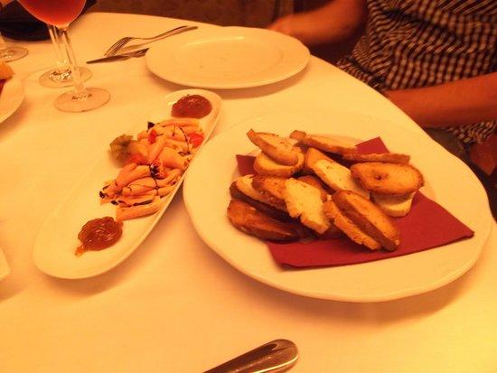 Restaurante La Vil·leta: primer plato