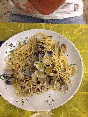 Camping Village Voltoncino : Spaghetti alle vongole del camping Voltoncino