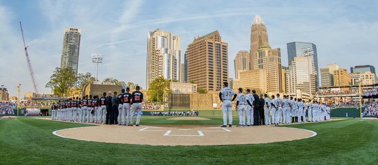 BB&T Ballpark: Opening Day - April 11, 2014