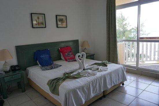 Silver Beach Hotel: Zimmer im Hauptgebäude mit guter Aussicht