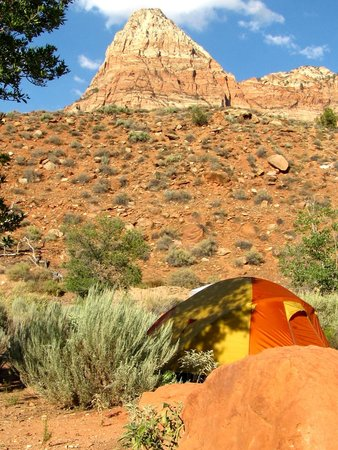 Watchman Campground: North View F Loop