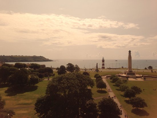 Holiday Inn Plymouth: View from the restaurant
