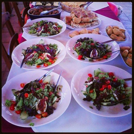 Nostos Restaurant: Nostos salad #nostos_restaurant