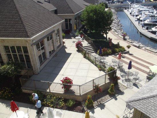 Stone Harbor Resort: Out Door Patio