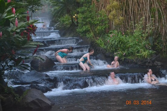 Tabacon Thermal Resort & Spa: At the Springs