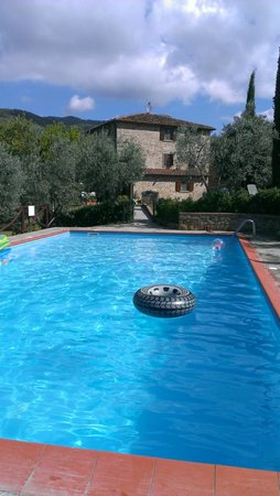Le Capanne Agriturismo: Zwembad