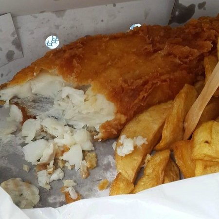 Rock & Sole Plaice: Large cod and chips