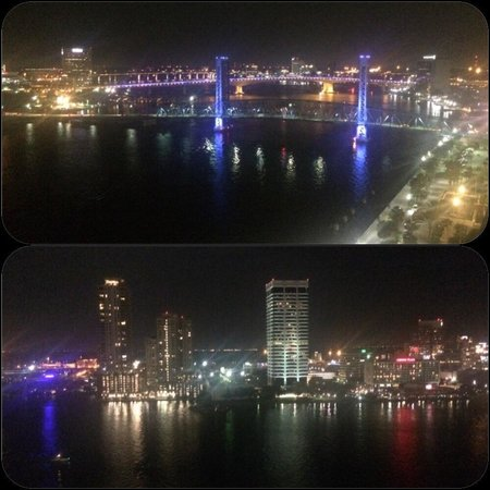 Hyatt Regency Jacksonville Riverfront : 18th floor River View