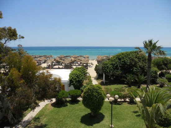 The Orangers Beach Resort & Bungalows: VIEW FROM ROOM
