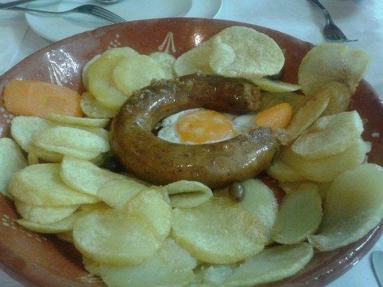 Restaurante A Ceia: Chorizo de venado y perdiz