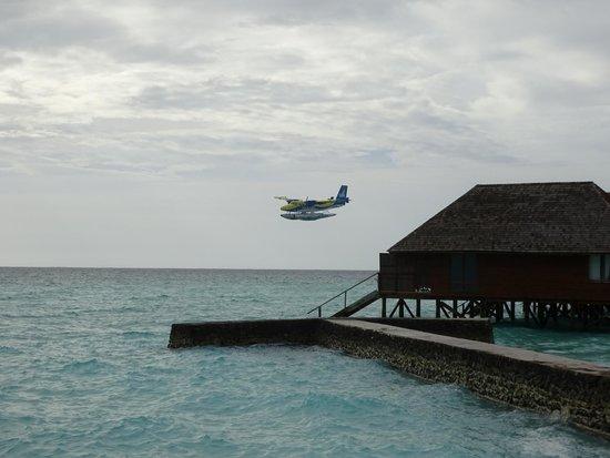 Veligandu Island Resort & Spa: seaplane