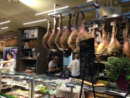 Mercato Centrale: ham