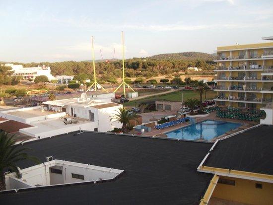 Intertur Hotel Miami Ibiza : view from room 316